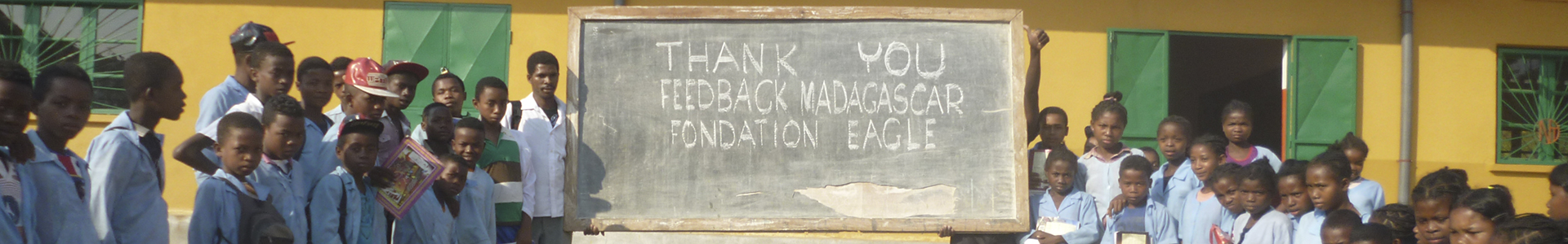 School in Madagascar with children Eagle Foundation